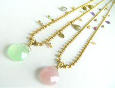 Arrow with semiprecious stons. Natanè, jewels, necklaces