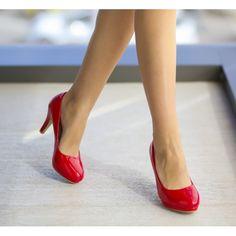 Pantofi Toka Rosii