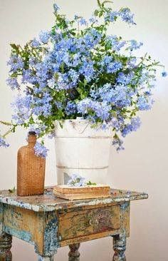 Vintage Flower Display by Oh So ShAbBy By Debbie Reynolds