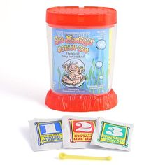 Schylling Sea Monkeys Ocean Zoo - Colors May Vary Pet Shrimp, Sea Monkeys, Best Stocking Stuffers, Steam Activities, Cute Monkey, Christmas Toys, Christmas 2014, Science Kits, White Elephant Gifts