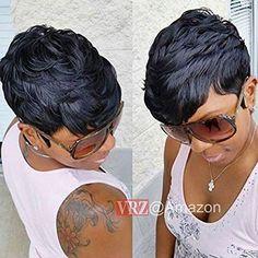 Women Pixie Haircut, Short Pixie Haircuts, Pixie Hairstyles, Curly Haircuts, Hairstyles 2016, Layered Haircuts, Braided Hairstyles, Short 27 Piece Hairstyles, Black Women Short Hairstyles