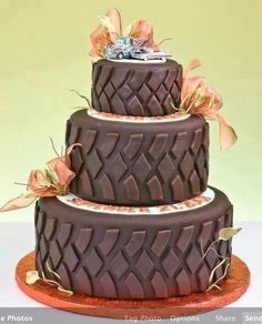 different kind of wedding cake