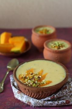We couldn't possibly let the season's last lot of ultra sweet mangoes go without whisking up a fitting goodbye treat. Thick and creamy, this recipe for Phirni handed down through genera…