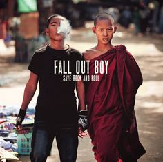 Fall Out Boy - Save Rock and Roll;; I've missed them so much.