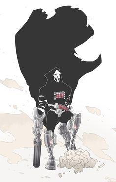 Overwatch - Reaper by BrotherBaston on DeviantArt