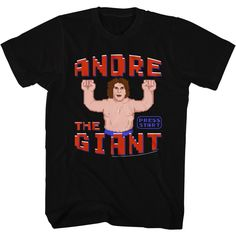 Andre The Giant: Wreck It Andre T-Shirt