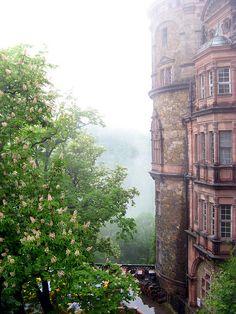 Schloss Fürstenstein (Książ) by BernieCB, via Flickr