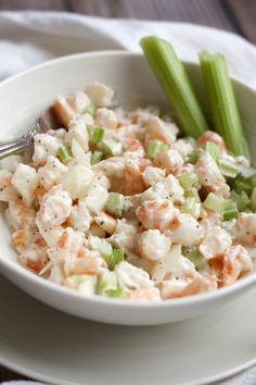 Simple and so delicious, this Southern Shrimp Salad recipe is one I grew up eating right out of the bowl…and it's tasty on a toasted po-boy bun, too! This time of year always makes me a little homesick for summertime. I'm a summer sun gal, no doubt about it. I'd rather see palm trees than snowy...Read More »