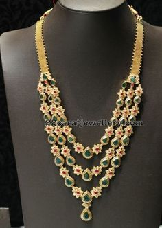 Three Layer Pachi Set by Mor Jewels