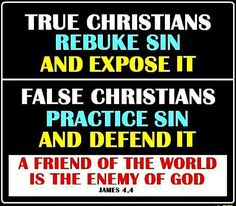 "EXPOSING SIN IS NOT BEING JUDGMENTAL: Many have been so indoctrinated with the ""don't-offend-anyone"" philosophy that even Christians are afraid to speak up against moral and spiritual wrongs in this world. That thinking is not Biblical. Certainly the Biblical teaching never intends the Christian to be purposefully nasty and hurtful to anyone. We are to warn the world, however, of encroaching dangers and pitfalls. We have the spiritual eyes to see them coming, and we are to warn those that…"