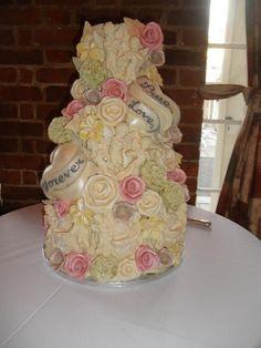 Our wedding cake, choccywoccydoodah!
