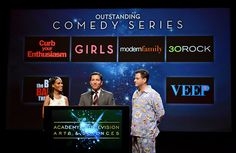 'Mad Men' leads the 2012 Primetime Emmy awards. The nominees were announced Thursday morning in Los Angeles. (via nytimes.com; photo via Kevin Winter/Getty Images)