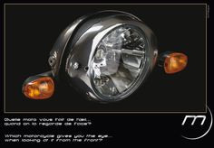 Which #motorcycle gives you the #eye .... when looking at it from the front? #Midual #Type1 #midual.com