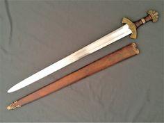 Shieldmaiden. Christian Fletcher Swords and Scabbards.