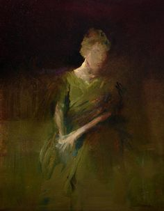 The Green Dress - Maurice Sapiro (Print)