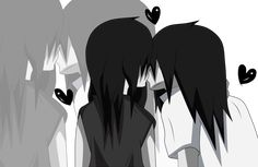 jeff the killer and jane the killer kiss - Google Search