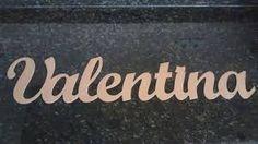 Resultado de imagem para nome valentina para pintar fraldas