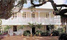 Les Maisons créoles en Martinique