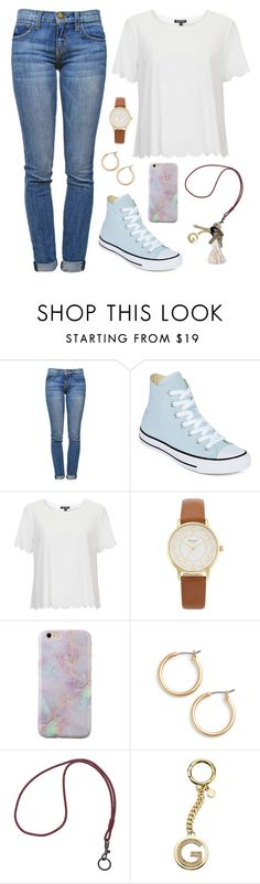 """It snowed last night"" by classygrace ❤ liked on Polyvore featuring Current/Elliott, Converse, Topshop, Kate Spade, Nordstrom, Bottega Veneta, Michael Kors and Avon"