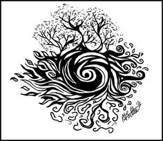 elemental tattoo | Earths Elements Tattoo Design by *Bek-piratehorse on deviantART