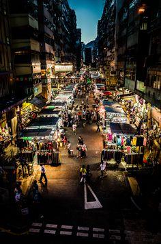 Nightmarket Hongkong