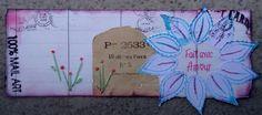 Mail art réalisé par Annabel DT ISDesign  http://infinimentblog.canalblog.com/archives/2015/05/01/31971738.html