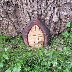 Mini Gnome door  Fairy Door / faerie door by banished on Etsy