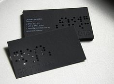 8 best laser cut business cards images on pinterest business cards grosz co lab business cards white letter engraved on black stock blind embossed and colourmoves