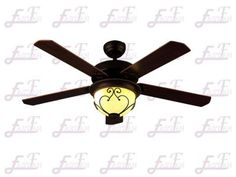 Proud Lighting Ceiling Fans: East Fan Three Blade Indoor Ceiling Fan wit. Decorate Lampshade, Lampshades, Decorative Ceiling Fans, 52 Inch Ceiling Fan, Metal Canopy, Black Coffee, Save Energy, Light Fixtures, Blade