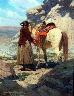 Western Painting | westernamericanindianart.com- Raunig Art Enterprises!
