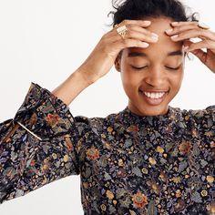 f3f550636e Karen Walker® Silk Loretta Dress. Silk Floral ...