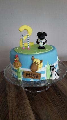 Geburtstagstorte Bauernhof Tiere