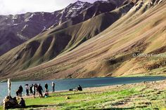 Ain't that gorgeous? Chandratal Lake, Spiti, India