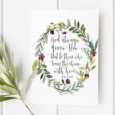 Psalm 37:4 - God always gives His best to those who leave the choice with him - Scripture Art - Bible Verse - Bible verse wall art - Bible verse prints