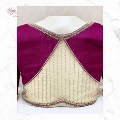 Simple Blouse Designs, Stylish Blouse Design, Bridal Blouse Designs, Sleeves Designs For Dresses, Blouse Neck Designs, Designer Blouse Patterns, Pattern Blouses For Sarees, Blouse Designs Catalogue, Saree Kuchu Designs