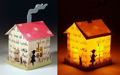 paper houses - LOVE them!