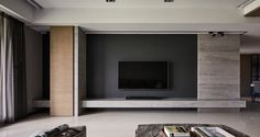 How to make your Home Interior Decorating successful? Living Room Tv Unit, Living Room Modern, Interior Design Living Room, Modern Interior, Interior Architecture, Living Room Designs, Interior Decorating, Tv Wall Design, House Design