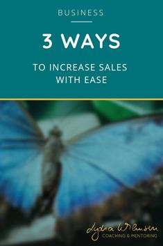 3 Ways How to Increase Your Sales with Ease - Lydia Wilmsen - Coaching & Mentoring Make More Money, Make Money Online, Online Self, Sensitive People, Increase Sales, Mindset Quotes, Meaningful Life, Online Coaching, Online Entrepreneur