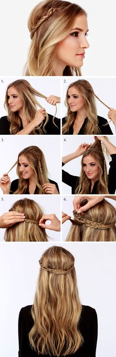 Game of Thrones Braids | Click Pic for 12 DIY Wedding Hairstyles for Medium Hair | Easy Hairstyles for Long Hair