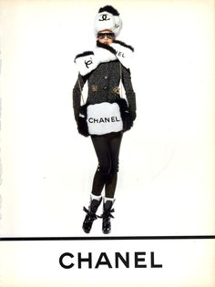 ☆ Trish Goff | Photography by Karl Lagerfeld | For Chanel Campaign | Fall 1994