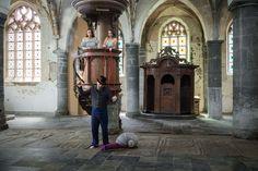 Marionettenschnecken Monsieur, May 2016, Belgium / Entstanden für eine Doku von…