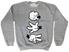 disney sweater rock paper sissors