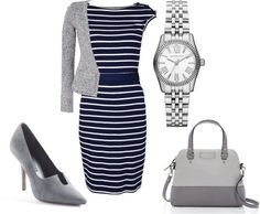Chic Professional Woman Work Outfit. Professional Women - Forbes Style... Not a fan of the shoes lol