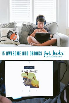15 Awesome Audio Books for Kids This Summer
