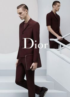Dior SS14 Campaign shot by Karl Lagerfeld.