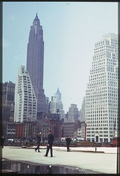 Bilder aus New York aus den 40er Jahren von Charles W. Cushman [10 Bilder]