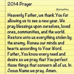 new year prayer - Google Search