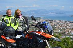 Dalmatian Coast Ride with BMW motorbike rental from Transylvania, Romania.  motorcycle-tours.travel