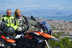 Dalmatian Coast Ride with BMW motorbike rental from Transylvania, Romania.  motorcycle-tours.travel