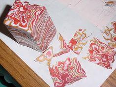 Mokume gane tutorial (beadizzy style) with bonus stamp idea - POTTERY, CERAMICS, POLYMER CLAY